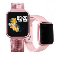 Moteriškas laikrodis Wotchi SmartWatch SET W08P Išmanieji laikrodžiai ir apyrankės