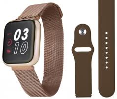 Moteriškas laikrodis Wotchi SmartWatch SET W09R Išmanieji laikrodžiai ir apyrankės