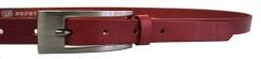 Moteriškas odinis diržas Penny Belts 20-177-93 Red 95 cm Belts