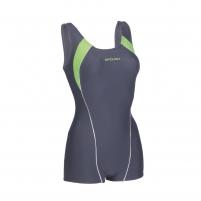 Moteriškas plaukimo kostiumėlis Spokey SIRENE, mėlynas-žalias Swimwear