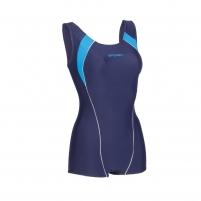 Moteriškas plaukimo kostiumėlis Spokey SIRENE, mėlynas-žydras Swimwear