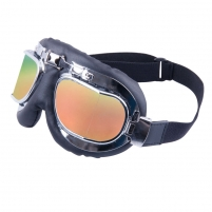 Motociklininko akiniai W-TEC S-3 Gold Lens Motocikla brilles