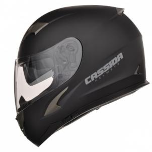 Motociklininko šalmas Cassida Integral 2.0 black matt