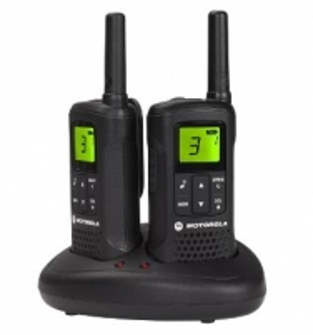 Motorola T60 portatyvios radio stotelės, 8km, 8kanalai