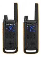 Motorola T82 Extreme portatyvios radio stotelės, 10km, 8kanalai Racijos, CB radijo stotelės