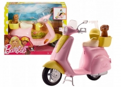 Motoroleris FRP56 Barbie Scooter