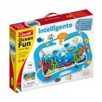 Mozaika 0969 Ocean Fun - Fish & Pegs - chiodini Quercetti