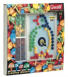 Mozaika Puzzle Quercetti 0283 Fanta Color Creative Mosaic no 4g. Dėlionės vaikams