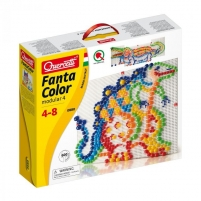 Mozaika Puzzle Quercetti 0880 Fanta Color no 5g. Jigsaw for kids