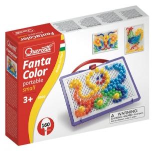 Mozaika Puzzle Quercetti 0920 Fanta Color no 3g. Dėlionės vaikams