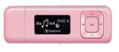 MP3 grotuvas Transcend MP330 8GB Rožinis, FM radijas, 1 OLED ekranas