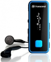 MP3 grotuvas Transcend MP350 8GB Juodas, Fitness Tracker MP3 grotuvai, ausinukai