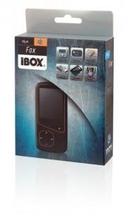 MP4 grotuvas iBOX FOX 4GB Juodas MP3 grotuvai, ausinukai