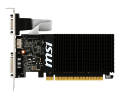 MSI GeForce GT 710, 1GB DDR3 (64 Bit), HDMI, DVI, D-Sub