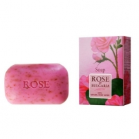 Muilas BioFresh Natural Soap with Rose Water Rose Of Bulgaria (Soap) 100 g Ziepes