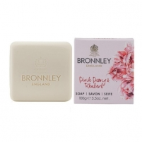 Muilas Bronnley Luxury solid soap Peony and rhubarb (Soap) 100 g Muilas