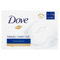 Muilas Dove (Beauty Cream Bar) 4 x 100 g Мыло