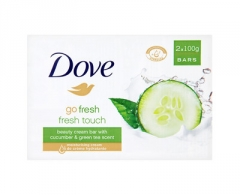 Muilas Dove Go Fresh Fresh Touch (Beauty Cream Bar) 2 x 100 g Muilas