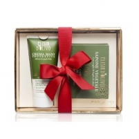 Muilas Erbario Toscano Gift set of moisturizing hand care and exfoliating soap Muilas