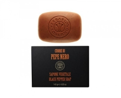 Muilas Erbario Toscano Natural Solid Soap for Men (Black Pepper Soap) 140 g Muilas