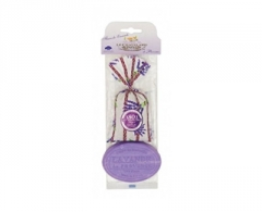 Muilas Le Chatelard Gift set Lavender bag 18 g + oval soap with lavender scent 100 g Muilas