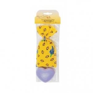Muilas Le Chatelard Gift Set Lavender Sachet 7 g + Lavender Soap Heart Shape 25 g Muilas