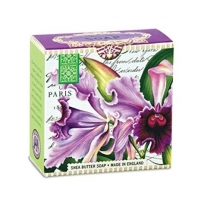 Muilas Michel Design Works Luxury soap in an elegant box Orchid ej (Shea Butter Soap) 100 g Muilas