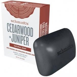 Muilas Schmidt´s Solid soap Cedar Wood + Juniper ( Natura l Soap) 142 g Мыло