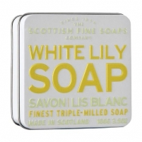 Muilas Scottish Fine Soaps Flower soap in sheet White lilies 100 g Muilas