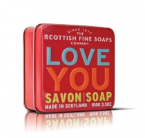 Muilas Scottish Fine Soaps I love you 100 g Muilas
