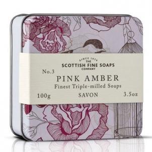 Muilas Scottish Fine Soaps Růžová ambra 100 g Muilas