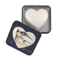 Muilas Somerset Toiletry Luxurious Solid Heart Shaped Love Is All You Need (Soap) 150 g Muilas