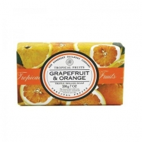 Muilas Somerset Toiletry Luxury Solid Soap in Paper Grapefruit & Orange (Triple Milled Soap) 200 g Muilas