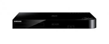 Multimedia grotuvas SAMSUNG Blu-ray player BD-F8900/EN Video players