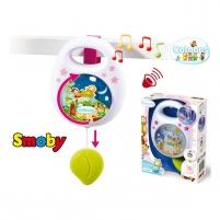 Muzikinė dėžutė | rožinė | Smoby Kitos prekės kūdikiams