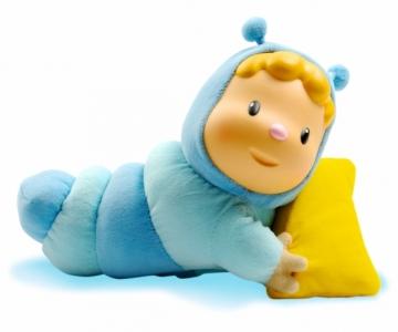 Muzikinis kirmėliukas - lemputė | mėlynas | Cotoons | Smoby Kitos prekės kūdikiams