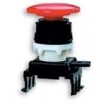 Mygtukas grybas, be raktelio, raudonas, įleidžiamas, HD55C1, ETI 04770022
