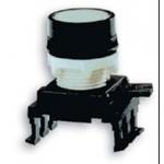 Mygtukas valdymo, spaudžiamas, be raktelio, geltonas, įleidžiamas, HD16C4, ETI 04770133