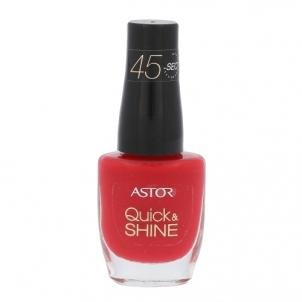 Nagų lakas Astor Quick & Shine Nail Polish Cosmetic 8ml Shade 611 Raise A Glass Dekoratyvinė kosmetika nagams