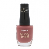 Nagų lakas Astor Quick & Shine Nail Polish Cosmetic 8ml Shade 618 Blackberry Smoothie