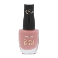 Nagų lakas Astor Quick & Shine Nail Polish Cosmetic 8ml Shade 619 Pink Cupcak