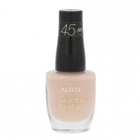 Nagų lakas Astor Quick & Shine Nail Polish Cosmetic 8ml Shade 620 Madeleine