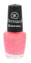 Nagų lakas Dermacol Neon Polish Cosmetic 5ml Nr. 19 Bikini Dekoratyvinė kosmetika nagams