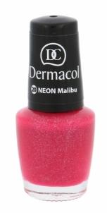 Nagų lakas Dermacol Neon Polish Cosmetic 5ml Nr. 20 Malibu Dekoratyvinė kosmetika nagams
