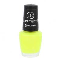 Nagų lakas Dermacol Neon Polish Cosmetic 5ml Nr. 21 Rio Dekoratyvinė kosmetika nagams