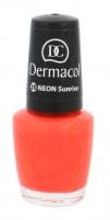 Nagų lakas Dermacol Neon Polish Cosmetic 5ml Nr. 25 Sunrise Dekoratyvinė kosmetika nagams