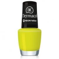 Nagų lakas Dermacol Neon Polish Cosmetic 5ml Nr. 18 Aloha Dekoratyvinė kosmetika nagams