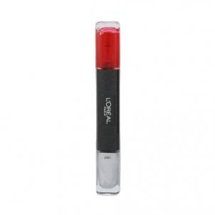 Nagų lakas L´Oreal Paris Infallible Duo Nail Polish Cosmetic 2x5ml Shade 028 Coral Dekoratyvinė kosmetika nagams
