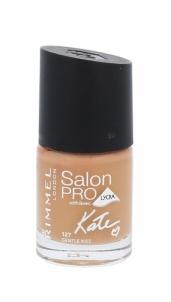 Nagų lakas Rimmel London Salon Pro Kate Cosmetic 12ml Shade 127 Gentle Kiss Dekoratyvinė kosmetika nagams