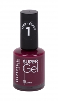 Nagų lakas Rimmel London Super Gel 092 Girl Pwr STEP1 12ml